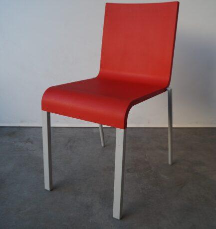 Matsalsstol Vitra .03 Röd