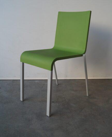Matsalsstol Vitra .03 Grön