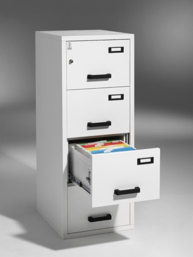 Robur Fireproof Vertical File 4-500-60