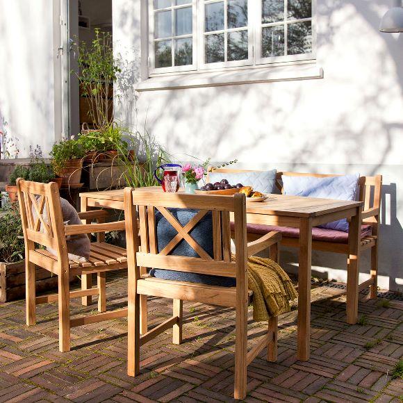 Trädgårdsbord Rosenborg Cinas Teak 165x80